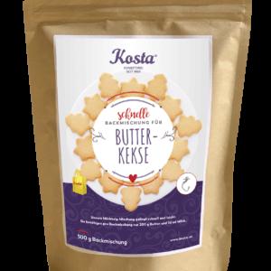 Backmischung Butter Kekse von der Konditorei Kosta
