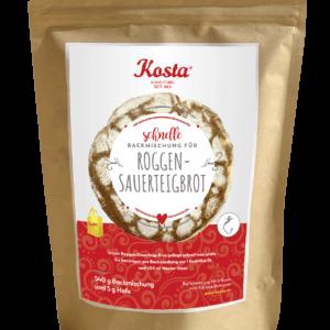 Backmischung Roggen Sauerteig Brot von der Konditorei Kosta