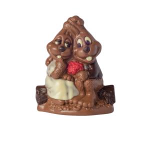 Hasenpärchen Schokolade