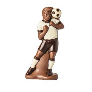 Fussballer aus Schokolade