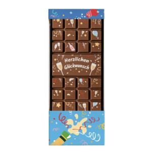 Schokolade Glückwunsch